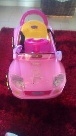 Peppa pig electric car with charger