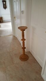 2 X WOODEN PLANT / LAMP STANDS - EXCELLENT CONDITION*****