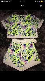 Miss Guided Two Piece size 6