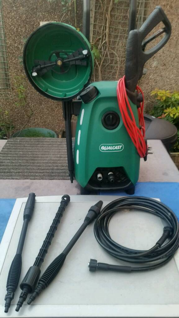 Replacement Qualcast Patio Brush Pressure Washer Attachment Fits All Models