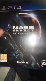 Mass effect ps4 game