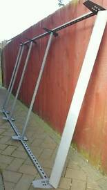 Vivaro traffic roof rack with roller plus fittings