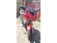 Yamaha frazer 600 (red fzs)