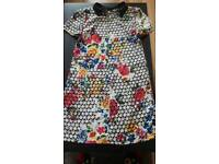 Womens floral dress UK size 8 great condition