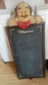 Chef chalk board
