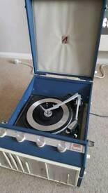 Vintage Decca Record Player