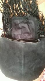 Black Firetrap messenger bag