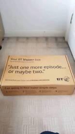 BRAND NEW BT Vision box