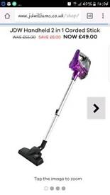 Small corded hoover