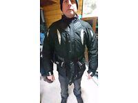 Frank Thomas Aqua Jacket Large