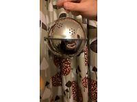 XMAS PUDDING STEAMER ROUND BALL CAKE TIN