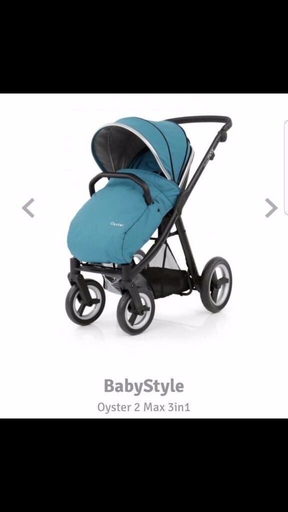 Selling an oyster max stroller, like brand new comes with everything you need for a new baby!