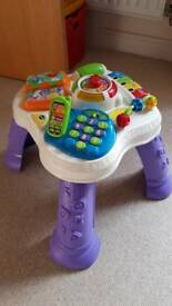 Baby toy - vtech Play & Learn Activity table