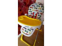 Cars cosatto highchair