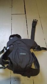 Tomy freestyle classic baby carrier papoose