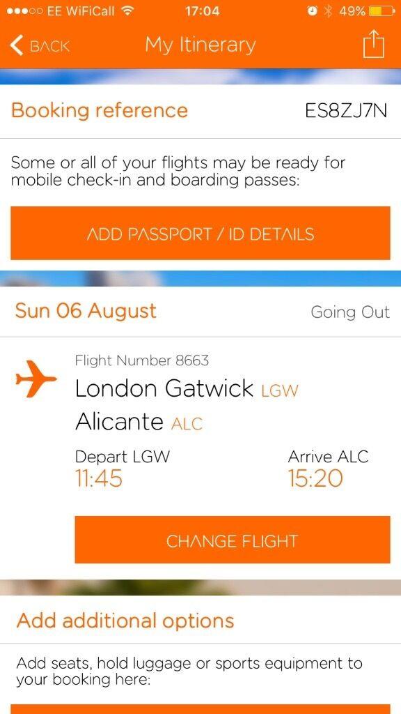 flights to alicante gatwick