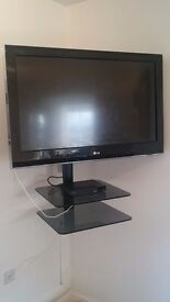 Corner television wall mount/ television stand