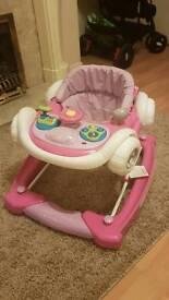 Mychild pink Baby walker