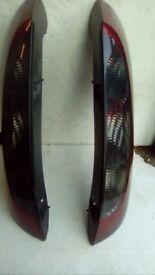 Vauxhsll Corsa C rear lights standard tint