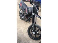 2017 ksr 125 super moto brand new