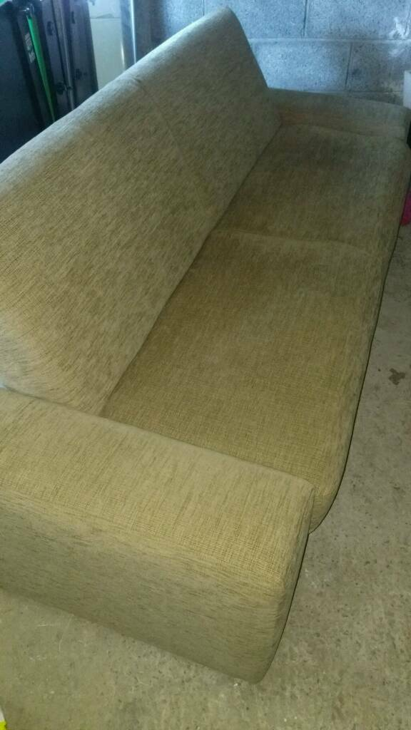 Sofa Bedin Dromara, County DownGumtree - Sofa bed with easy to use clic clac action, converts from sofa to bed in seconds. Oatmeal fabric and in excellent condition