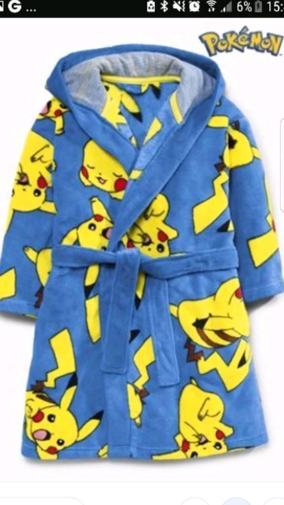 Pokemon Dressing Gown   in County Antrim   Gumtree