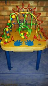Educo bead maze play table