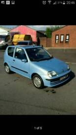 Fiat seicento takeaway vehicle low miles cheap tax and insurance
