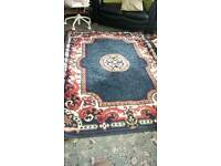 Large patterned rug