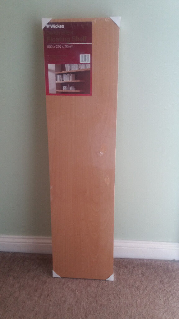 check out e7b17 58b2f WICKES Floating Shelf | in Mansfield Woodhouse, Nottinghamshire | Gumtree