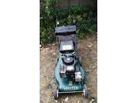 Hayter hunter 54 self propelled petrol lawnmower