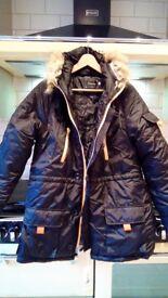 Ladies parka coat size 14-16