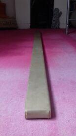 Continental gymnastics beam