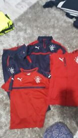 Boys rangers tracksuite and jacket