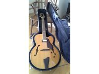 Semi-Acoustic Archtop Guitar
