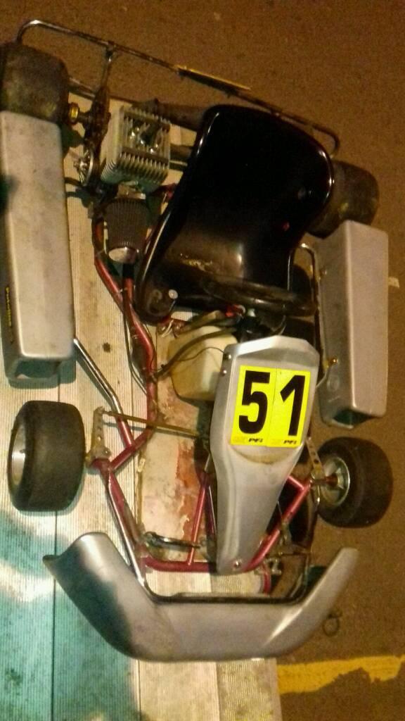 Yamaha RT100 go kart gokart read ad project