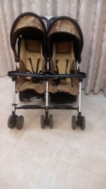 Double gold and black Combi buggy in great condition for sale