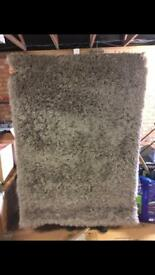 Next home- large fluffy grey rug