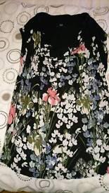 Ladies floral print top