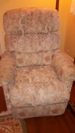 Reclining electric chair FREE for collection