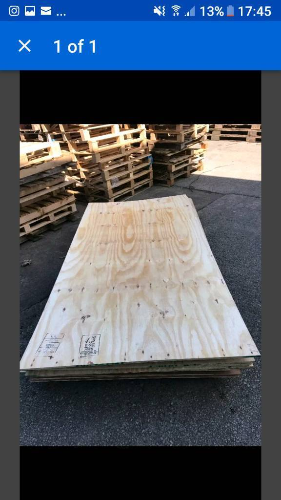 PLYWOOD (8X4, 12MM)