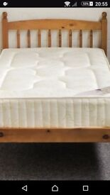 SOLID PINE BED - Just £75 + FREE DELIVERY