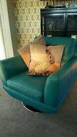Dfs designer swivel chair
