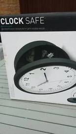 Clock safe new unwanted gift