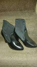 AS NEW WEDGE SHOES AND BOOTS