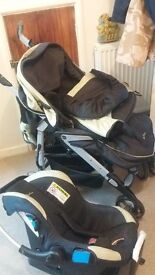 silvercross pram with carry car seat ,and more