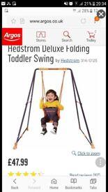 Hedstrom toddler folding swing