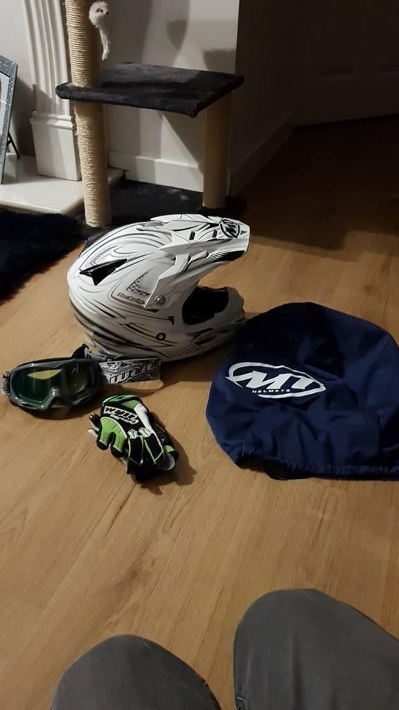 Kids mx helmet
