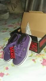 Brand new. In box. Unisex VANS children's size 10