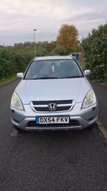 HONDA CRV I VTEC EXECUTIVE ,full MOT ,service history very good con, everything works as it should